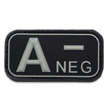 Patch Gommata con Velcro 3D PVC A NEG Art.444100-3507