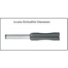 Acciaino Affila Coltelli Professionale Chiudibile Diamantato per Coltelli BLACK FOX Knives Italia Art.BF-300