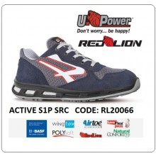 Scarpa Lavoro ACTIVE S1P-SRC Red Lion Antinfortunistica UPawer Art.RL20066