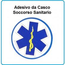 Adesivo da Casco Esculappio Soccorso Sanitario Art.AD-118-3