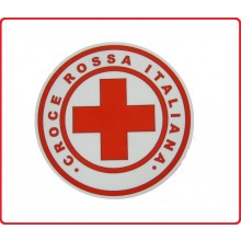 Adesivo Gigante per Auto Croce Rossa Italiana Art.TUS-CRI-G