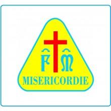 Adesivo da Casco Misericordia cm 5.00 Art.TUS-MC