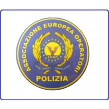 Adesivo o Vetrofania Associazione Europea Operatori Polizia AEOP Art.TUS-AEOP