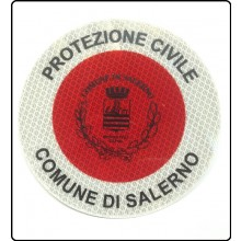 Adesivo Per Paletta Rosso 3M Protezione Civile Comune di Salerno  Art.A-PCS