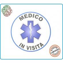 Adesivo Soccorso Soccorritore 118 MEDICO IN VISITA  cm 9,00 Prodotto Italiano Art.118-A8