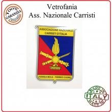 Vetrofania Associazione Nazionale Carristi Italia ANCI Tuscan Art.VET-5