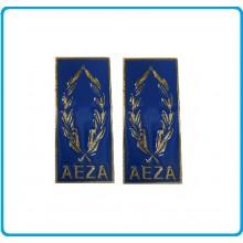 Mostrine Alamari da Colletto Giacca A.E.Z.A. Art.AEZA-M