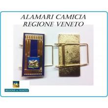 Mostrine Alamari da Colletto Camicia Molle Regione Veneto Polizia Locale  Art.PL-02