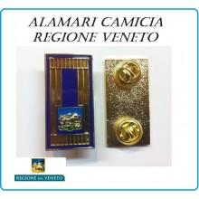 Mostrine Alamari da Colletto Camicia Morsetto Regione Veneto Polizia Locale  Art.PL-01