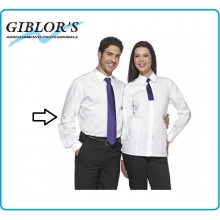 Camicia Uomo Banca  Manica lunga Cameriere Sommelier Barman Art.11P01O56