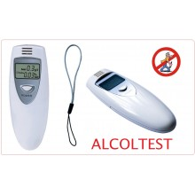 Etilometro Alcol Test Professionale Display LCD Breath Alcohol Analyzer Polizia Digital Breath Alcohol Tester SALVA PATENTE Art.ALI-ALCOL