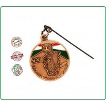Medaglia Commemorativa Ricordo 83 Adunata Nazionale Alpina 8-9 Maggio 2010 BERGAMO Art.ALPIBE23
