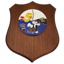 Crest Quadretto Aeronautica Militare 82° C. S.A.R. Prodotto Ufficiale Giemme cm 17x22 ArtAM0100P82CSAR