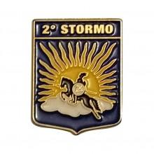 Distintivo Spilla da Camicia o Giacca Aeronautica Militare 2° Stormo Prodotto Ufficiale Art. AM0160P2ST