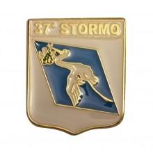 Distintivo Spilla da Camicia o Giacca Aeronautica Militare 37° Stormo Prodotto Ufficiale Art. AM0160P37ST