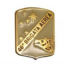 Distintivo Spilla da Camicia o Giacca Aeronautica Militare 46°Brigata Aerea Prodotto Ufficiale Art. AM0160P46BRAE