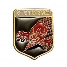 Distintivo Spilla da Camicia o Giacca Aeronautica Militare 6° Stormo Prodotto Ufficiale Art. AM0160P6STSP