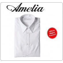 Camicia Donna Cameriera Barman By Amelia Primo Prezzo per Scuola Alberghiera Art.AMELIA-8