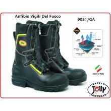 Anfibio Stivale Stivaletto Vigili del Fuoco Ingnifugo Gore-Tex® Fire Guard Boot Jolly Italia Art.9081/GA-C