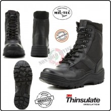 Anfibio Stivaletto Stivale Security SWAT Vigilanza Polizia Black Security Boots con Putale Mil-Tec Art.12837000