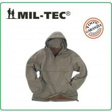 Maglione Anorak Modello Napapijri Giacca Combat Verde OD MIL-TEC Art.10332001