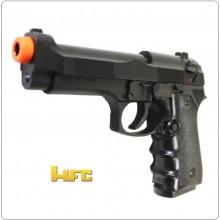 Pistola a Molla Pallini 6mm Pesante con Parti in Metallo ASG Beretta per Soft Air Addestramento HFC Art.AH-118EB