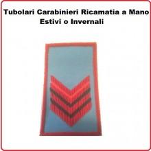 Gradi Tubolari Carabinieri Ricamati a Mano Canuttiglia New Appuntato Art.CC-CAN-11