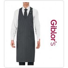 Grembiule Cameriere Barista Barman Sommelier Unisex Giblor's Long Apron  Art. 15P01H608