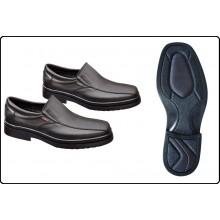 Mocassino Scarpe Scarpa Congresso Pelle Professionale Giblor's Art.542