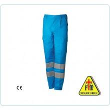 Pantalone Pantaloni Multi Tasche Multitasche Misericordie Misericordia BlueTech  Art.MIS86