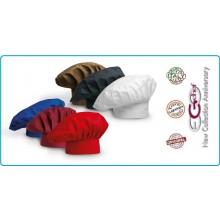 Cappello Cuoco Chef EGO CHEF Italia Colore a Scelta Personalizzabile  Art.700000C