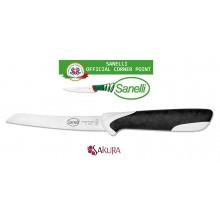 Linea Sakura Professional Knife Coltello Verdura Pomodoro cm 12 Sanelli Italia Cuoco Chef Art. 334512