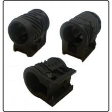 Attacco WEAVER per Torce  1 Pollice CYMA Per Torcia Per Fucili con Slitta M16 M4 RIS  Art.C66