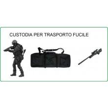 Borsone Custodia Royal Portafucile Porta Fucile Nero Soft Air Militare Caccia Personalizzabile con il Nome Ricamato Art.B200N