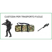 Borsone Custodia Royal Portafucile Porta Fucile Vegetata Soft Air Militare Caccia Personalizzabile con il Nome Ricamato Art.B200TC