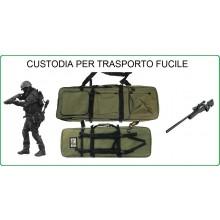 Borsone Custodia Royal Portafucile Porta Fucile Verde Soft Air Militare Caccia Personalizzabile con il Nome Ricamato Art.B200V