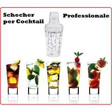 CASABLANCA Shaker per Cocktail Westmark Made in Germany Art.WE 6289