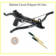 Pistola Balestra 80 Libre Caccia Poligono Modello Come La Cobra Art.MK 80 A4