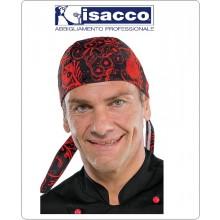 Bandana Sagomata Professionale Teschi Pirata Skull Isacco Italia Art.124072