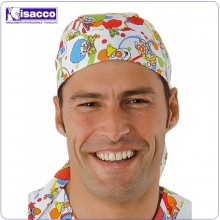 Bandana Smile Medicale  Infermieri Medici Dentisti Cucina Isacco italia Art.124032