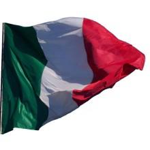 Bandiera Professionale Italia Poliestere Nautico da Esterno cm 100x150 Art.NSD.I.1x15