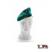 Basco Spagnolo Verde Bordo Tessuto Guardia di Finanza Venatoria ecc FAV Italia Art. FAV-V