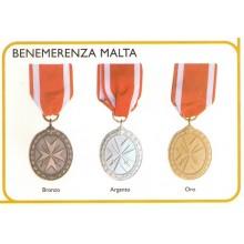 Medaglia Benemerenza Malta Art.Fav-48