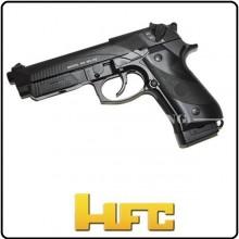 Pistola Beretta 92FS a CO2 Colpo Singolo e Raffica Scarrellante  HFC HCA 192B Art.CO 192R