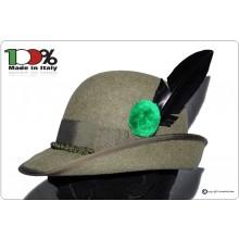 Cappello Alpini Alpino Ufficiale Modello Lusso Art.ALPI-LUSSO