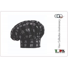Cappello Copricapo Berretto Cap Cuoco Chef Ego Chef Italia Chen-da  Art.7000115A