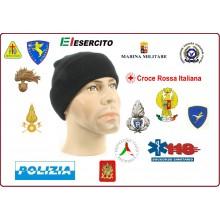 Watch Cap Berretto Zuccotto Papalina con Ricamato il Logo o la Scritta del Tuo Gruppo  Art.PAPALINA