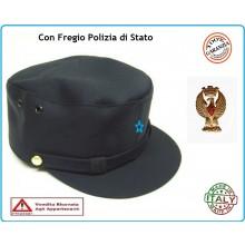 Berretto Polizia di Quartiere con Fregio Polizia di Stato VENDITA RISERVATA  Art.FAV-PSQ d50d3d80e797