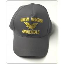 Berretto Baseball Cap con Logo Ricamato  Guardia Venatoria Ambientale con Logo  Art.NSD-GVA