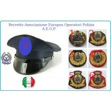Berretto Uniforme  per A.E.O.P. Operatori di Polizia Art.FAV-AEOP